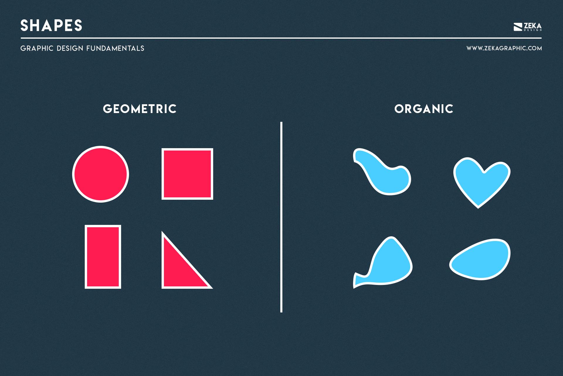 Shapes Graphic Design Fundamental Elements