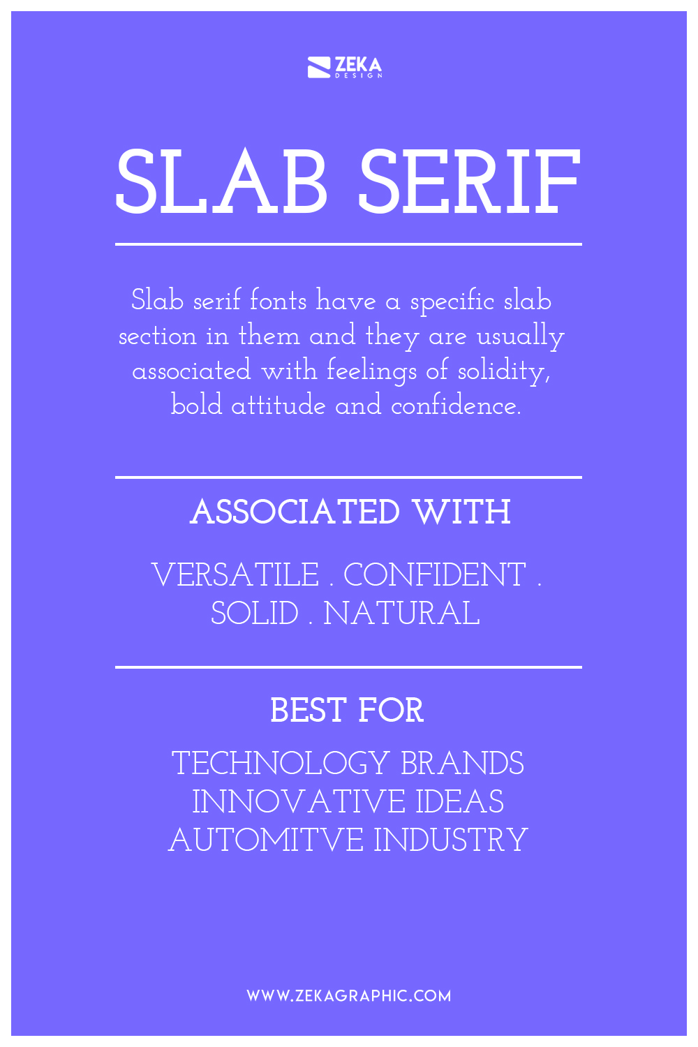 Slab Serif Font Meaning and How To Use Them