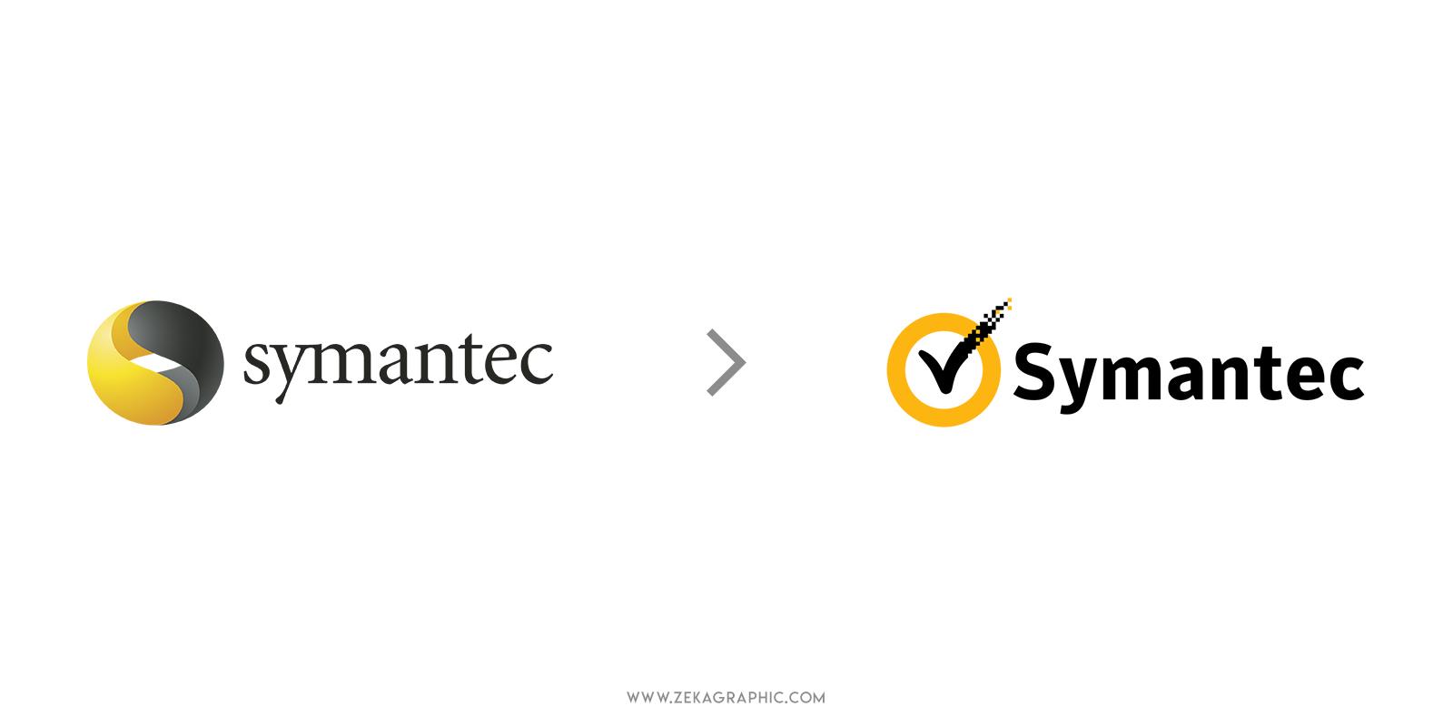Symantec Logo Redesign Most Expensive Logo Ever
