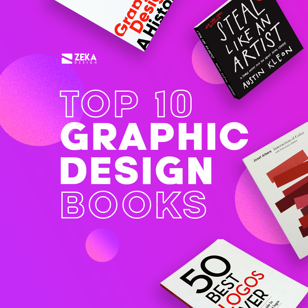 TOP 10 Graphic Design Books every graphic designer should read in 2021