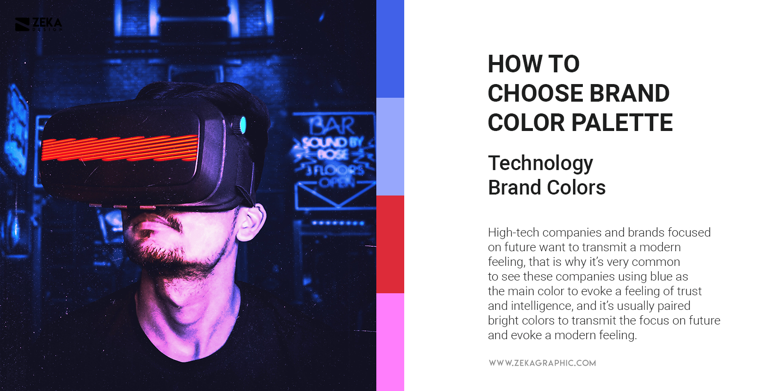 Technology And Modern Brand Colors Trend Branding Tips