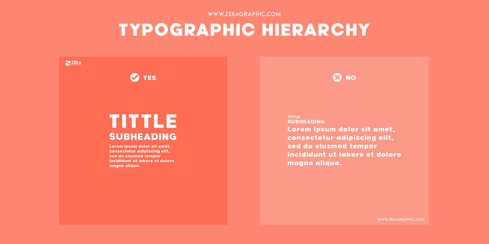 Typographic Hierarchy Visual Hierarchy Principles in Graphic Design