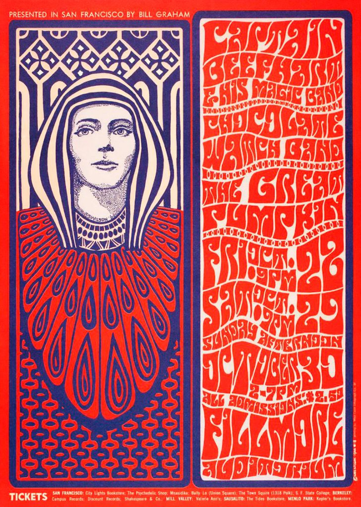 Wes Wilson Father Of Psychedelic Poster 03