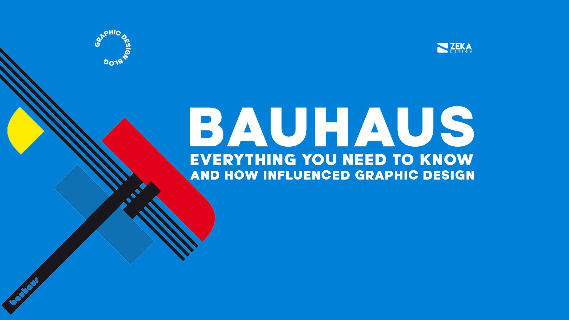 What is Bauhaus Art Design Movement in Graphic Design