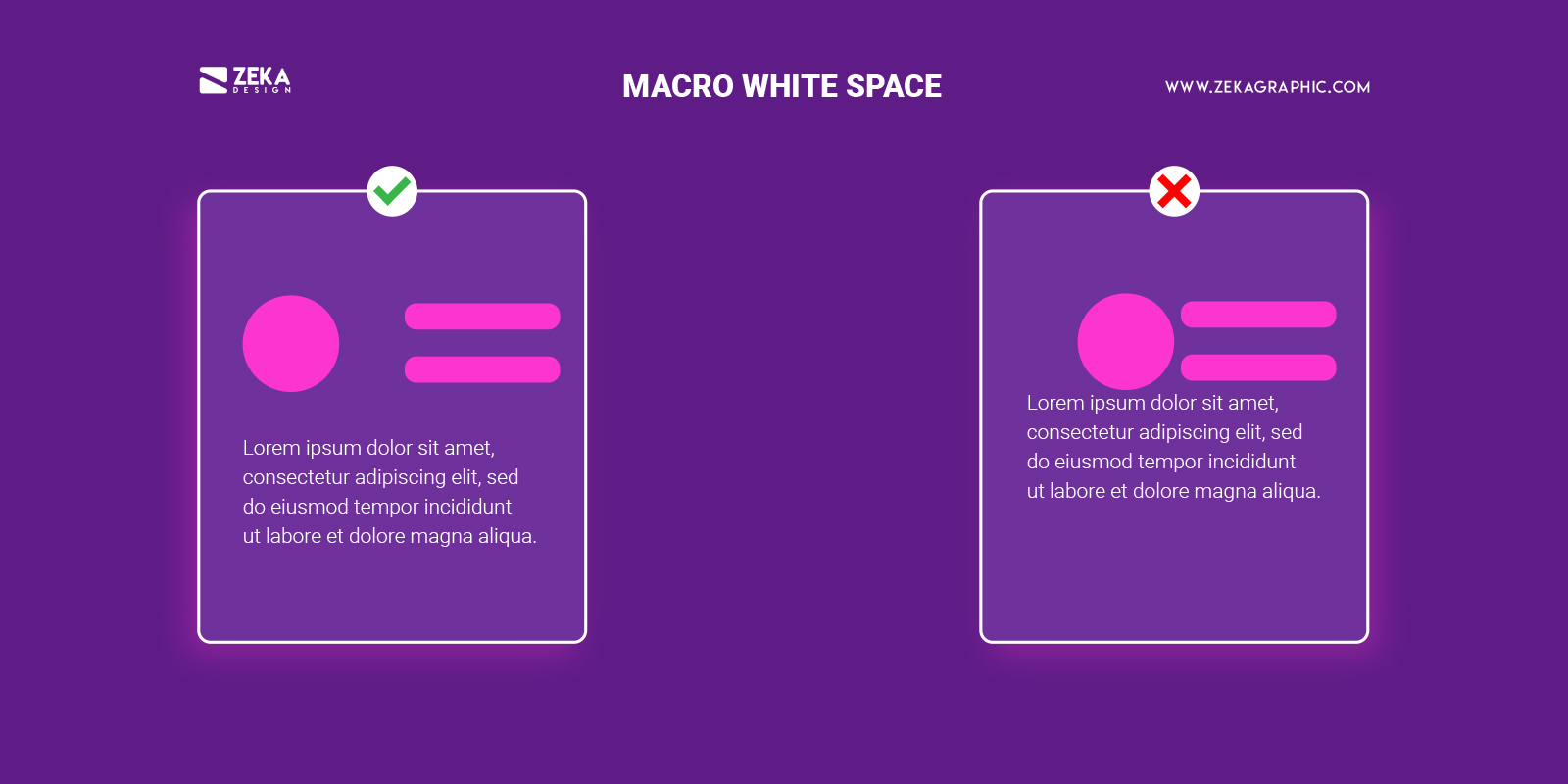 What is Macro White Space in Graphic Design Principles