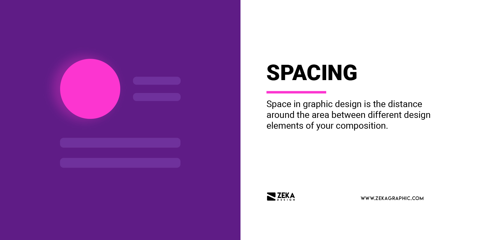 What is Spacing in Graphic Design Explained Visual Hierarchy
