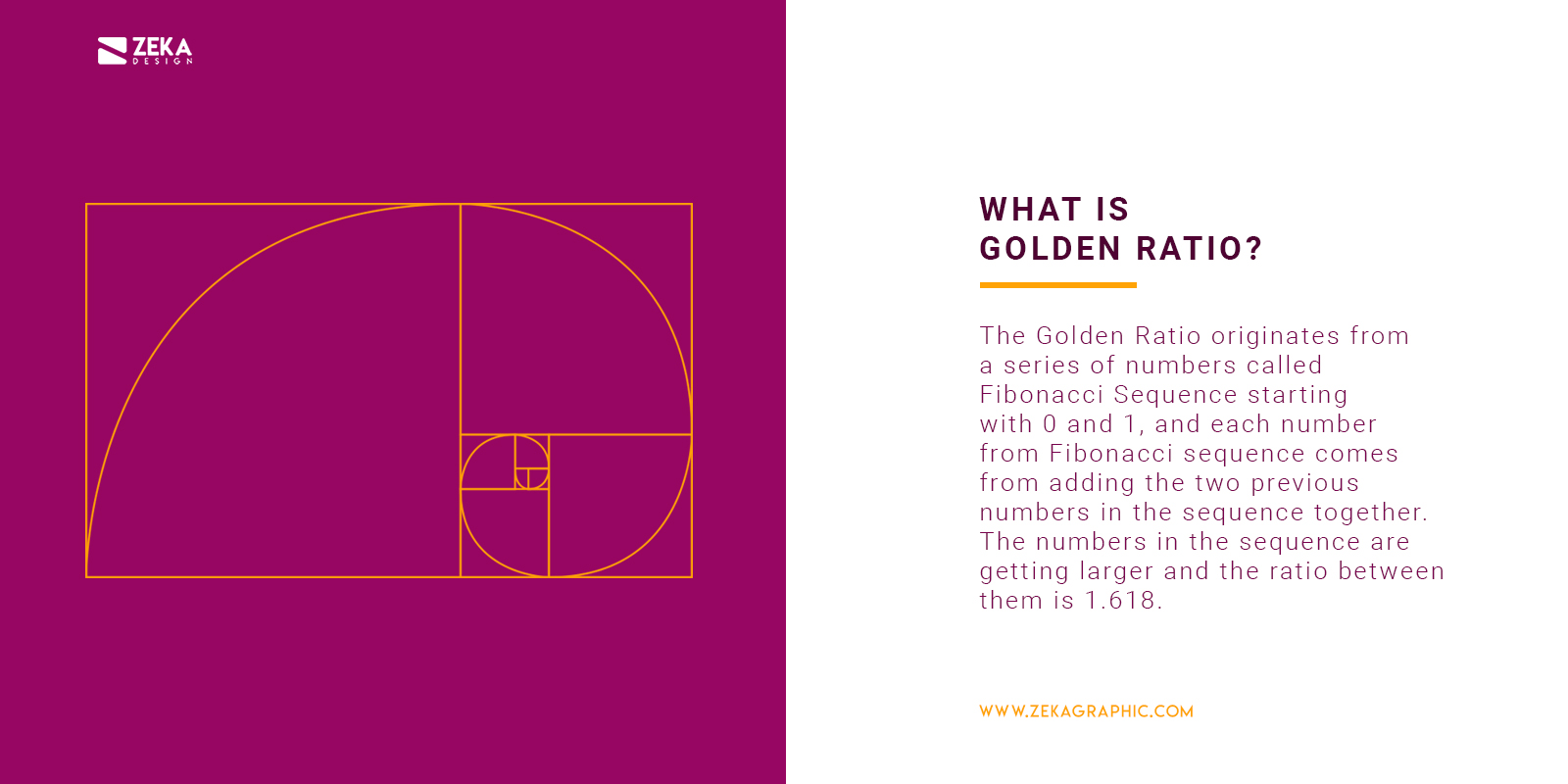 What is golden ratio meaning in Graphic Design and Logo Design