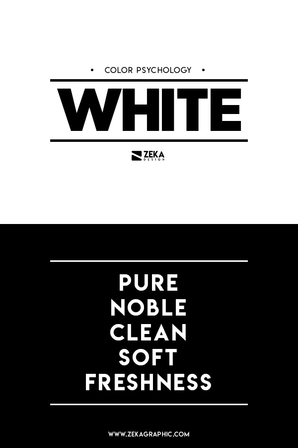 White Color Meaning Graphic Design Color Theory Guide