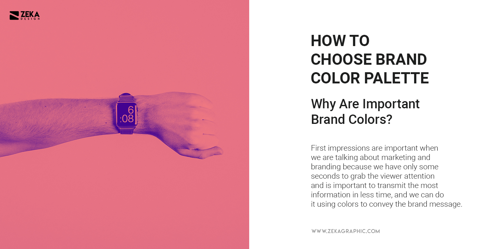 Why Brand Colors are important How to choose them 2