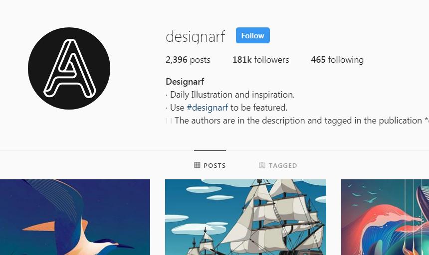 Best Instagram Accounts to Follow on Instagram For Inspiration designarf