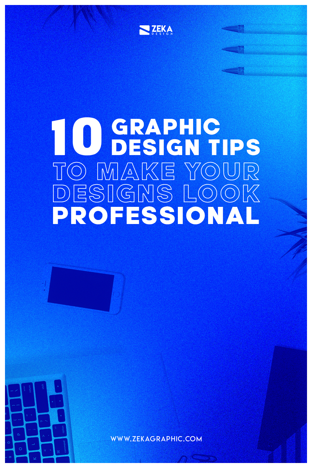10 Professional Graphic Design Tips Pin