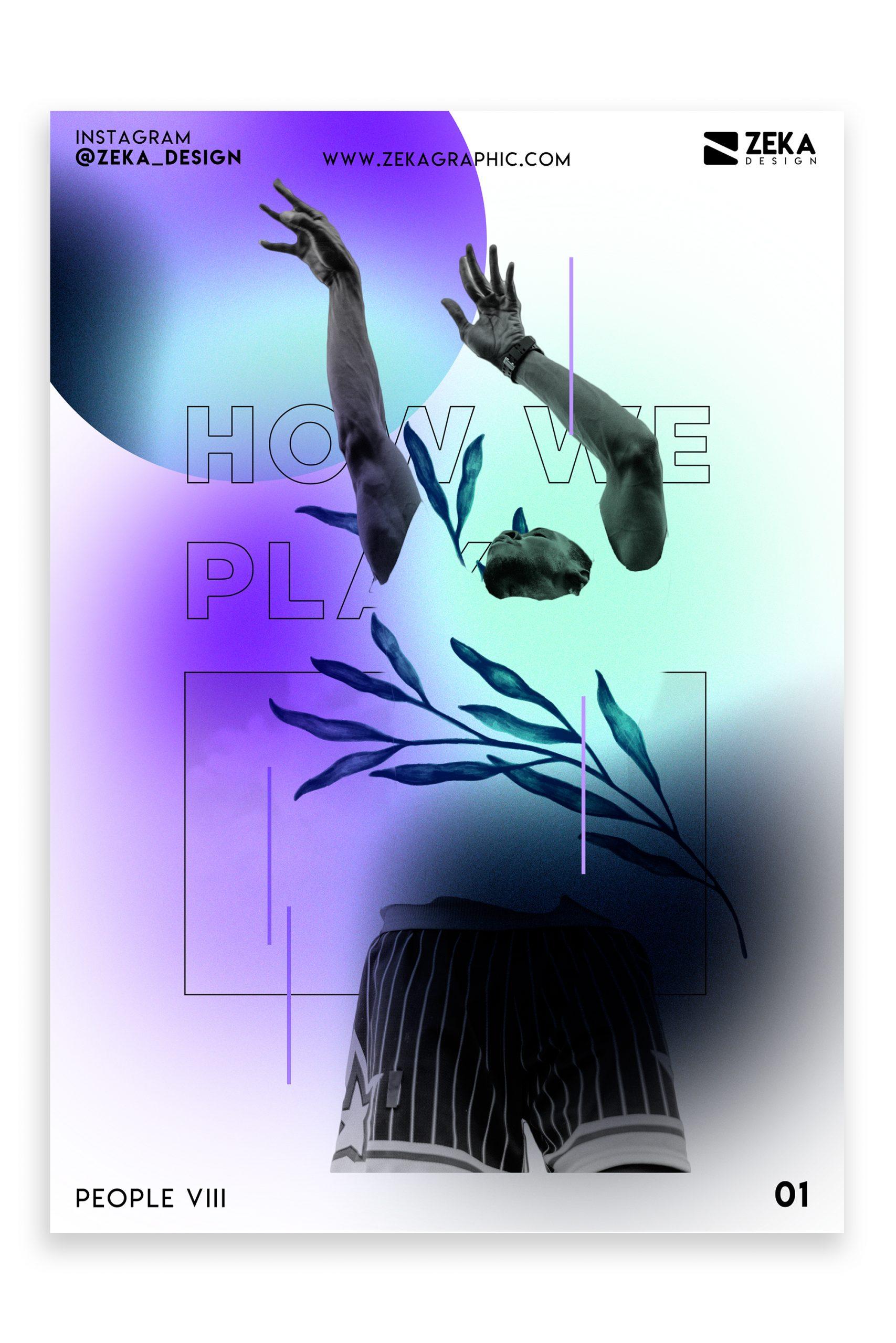People VIII Poster Design Inspiration Zeka Design Graphic Design Portfolio 1