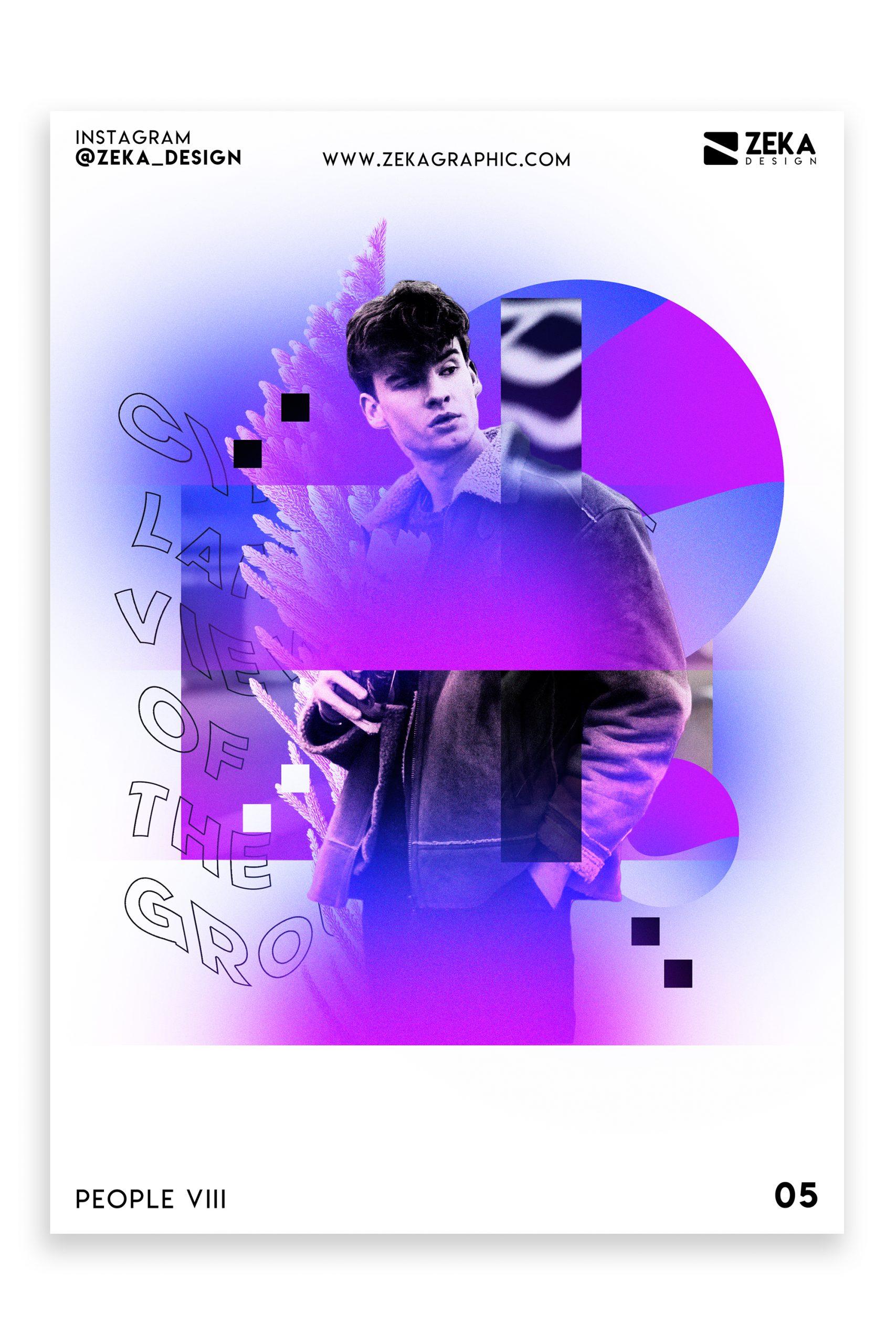 People VIII Poster Design Inspiration Zeka Design Graphic Design Portfolio 5