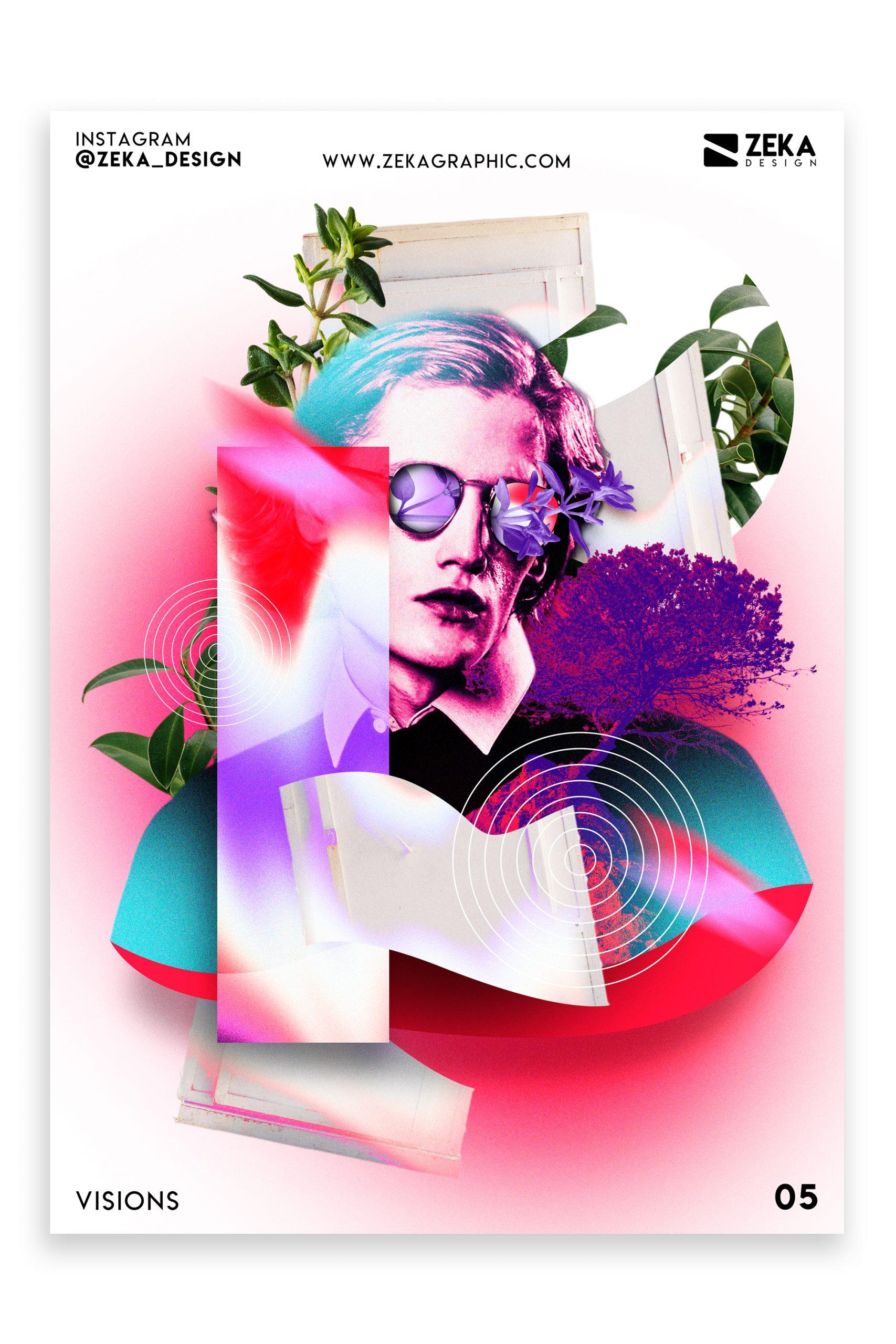 Visions Poster Design Inspiration Zeka Design Graphic Design Portfolio 5