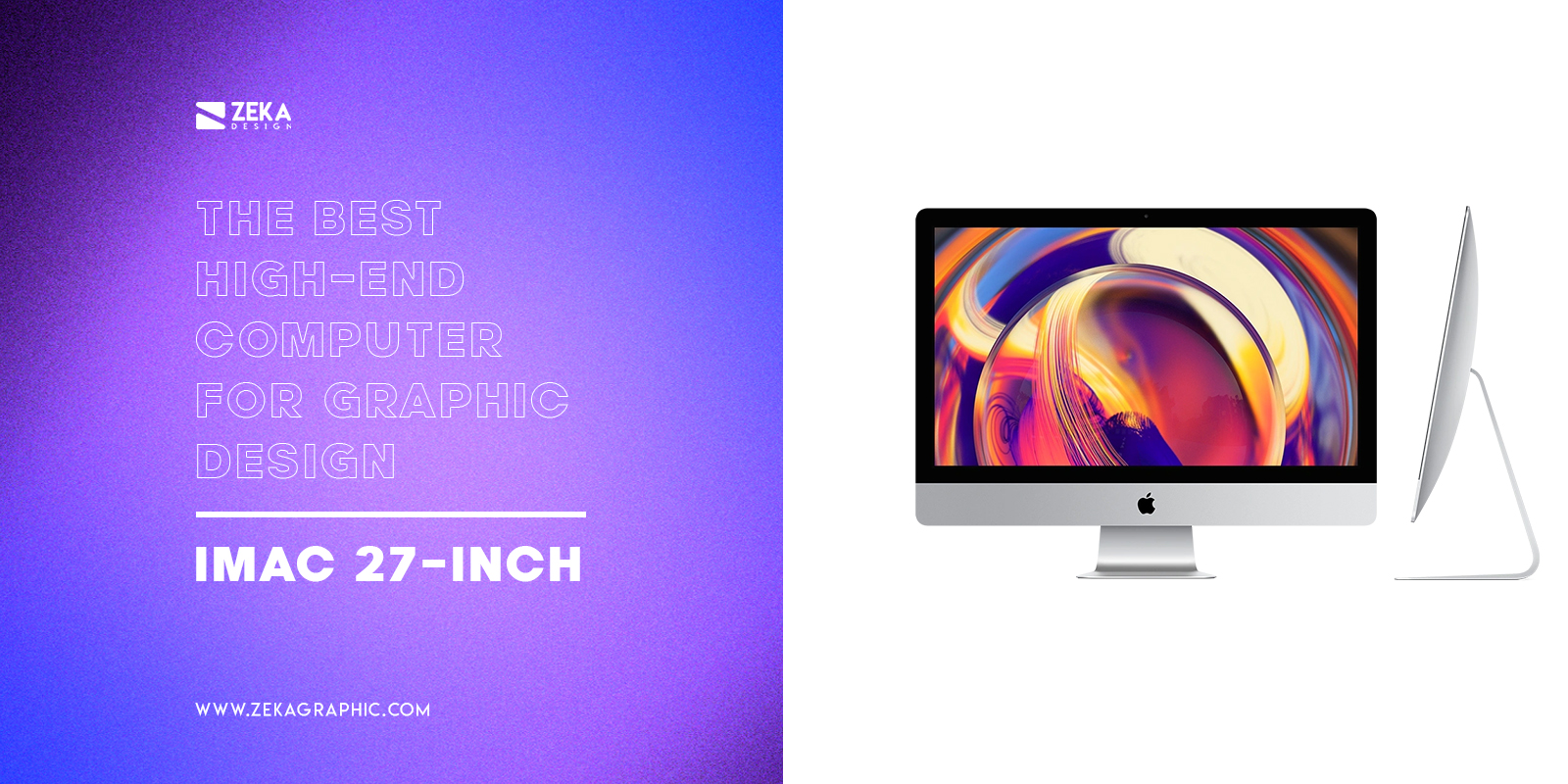 Apple iMac 27 inch Best High End Computer For Graphic Design