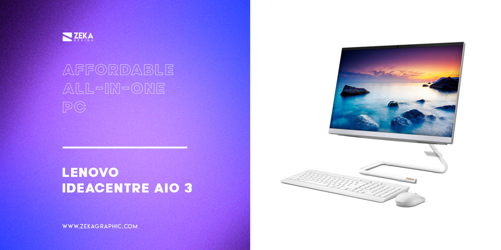Lenovo IdeaCentre AIO 3 Affordable All-in-one PC