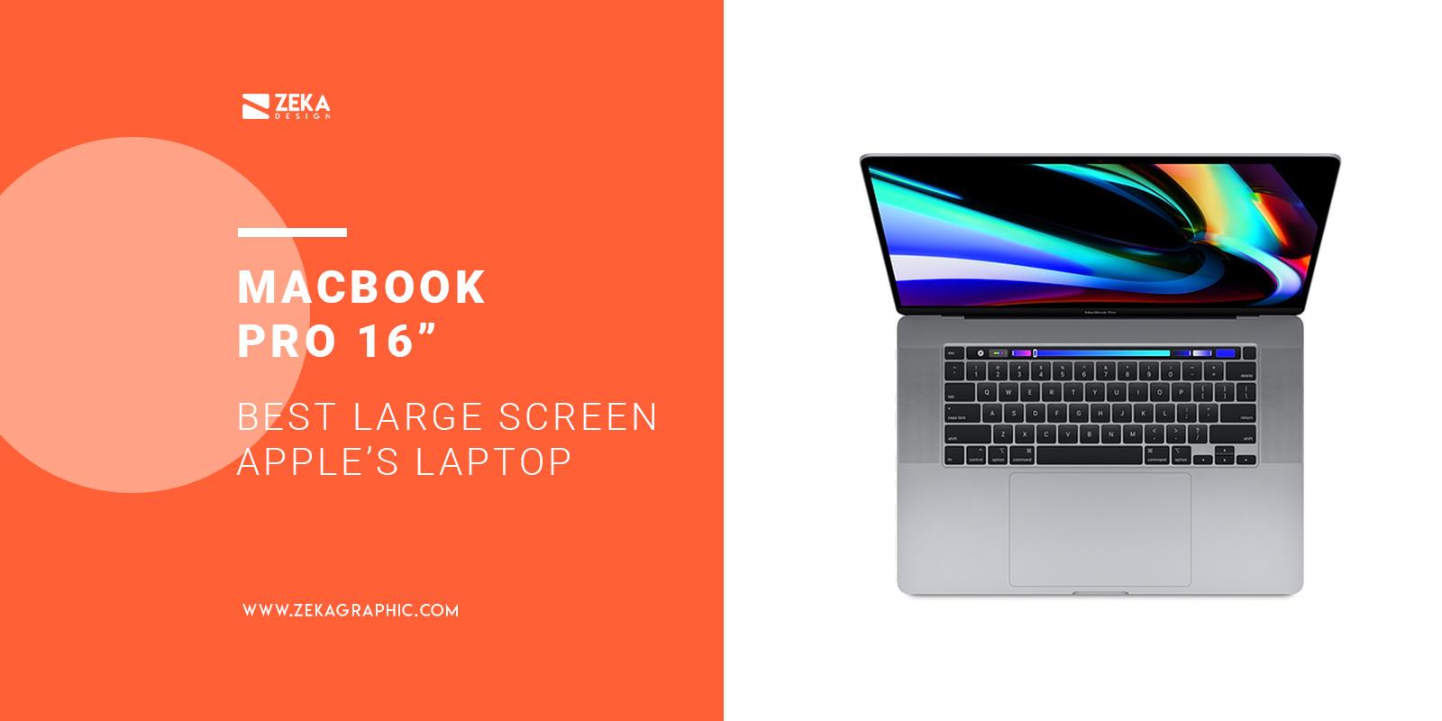 Apple MacBook Pro 16 Best Large Screen Laptop