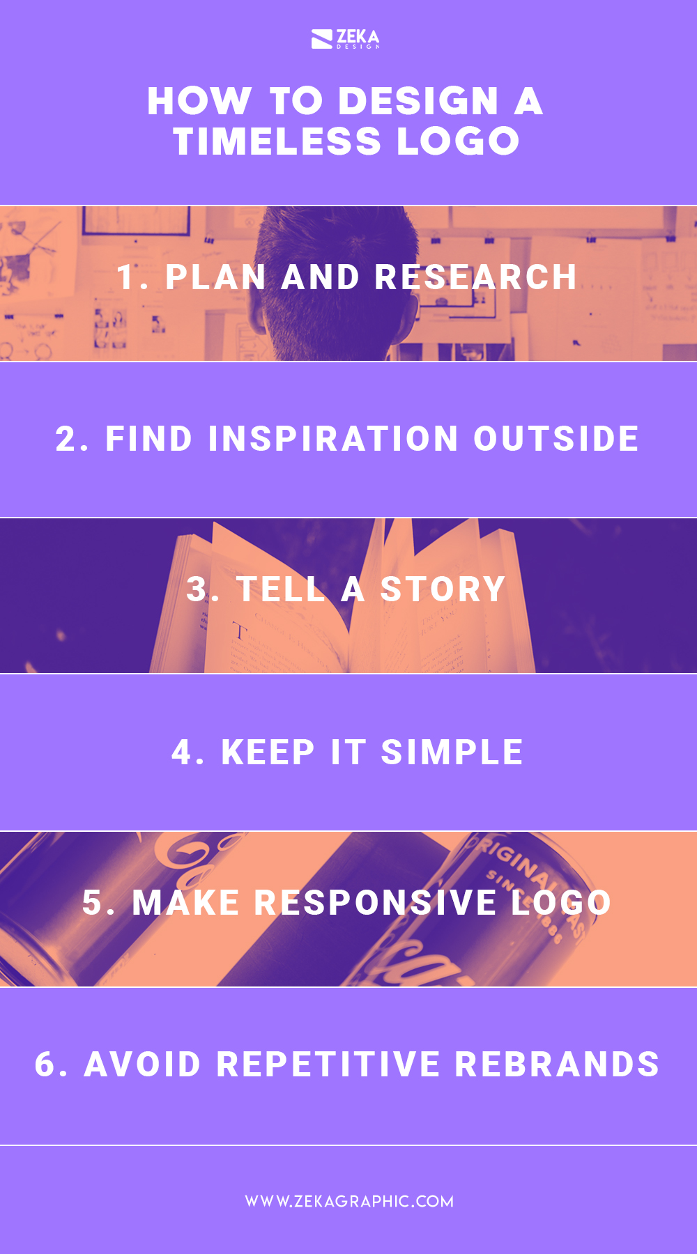 How To Make a Timeles Logo Design Infographic