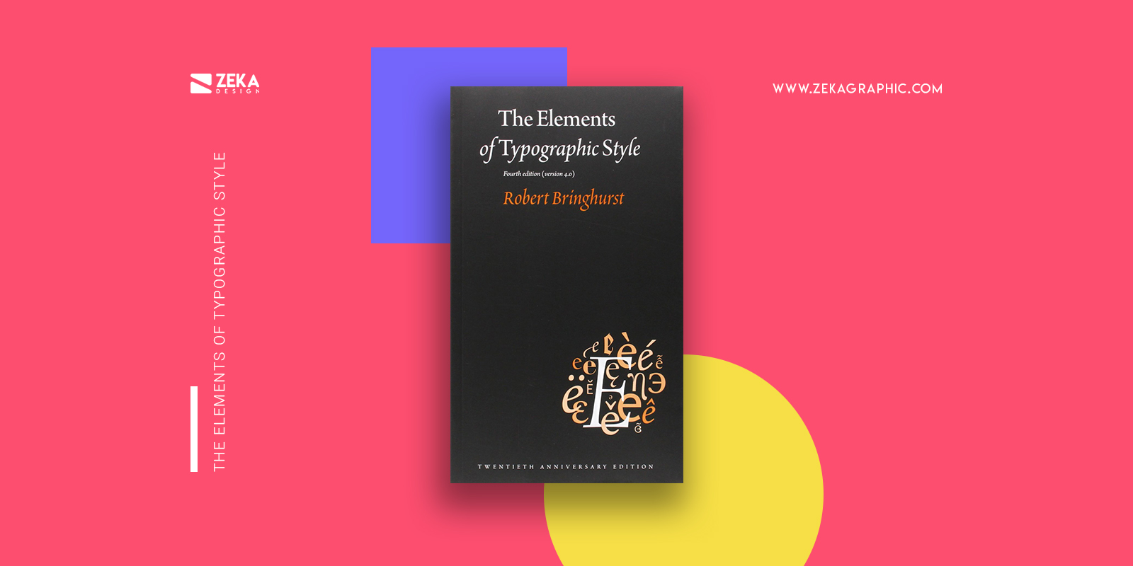 The Elements of Typographic Style Best Typography Design Books