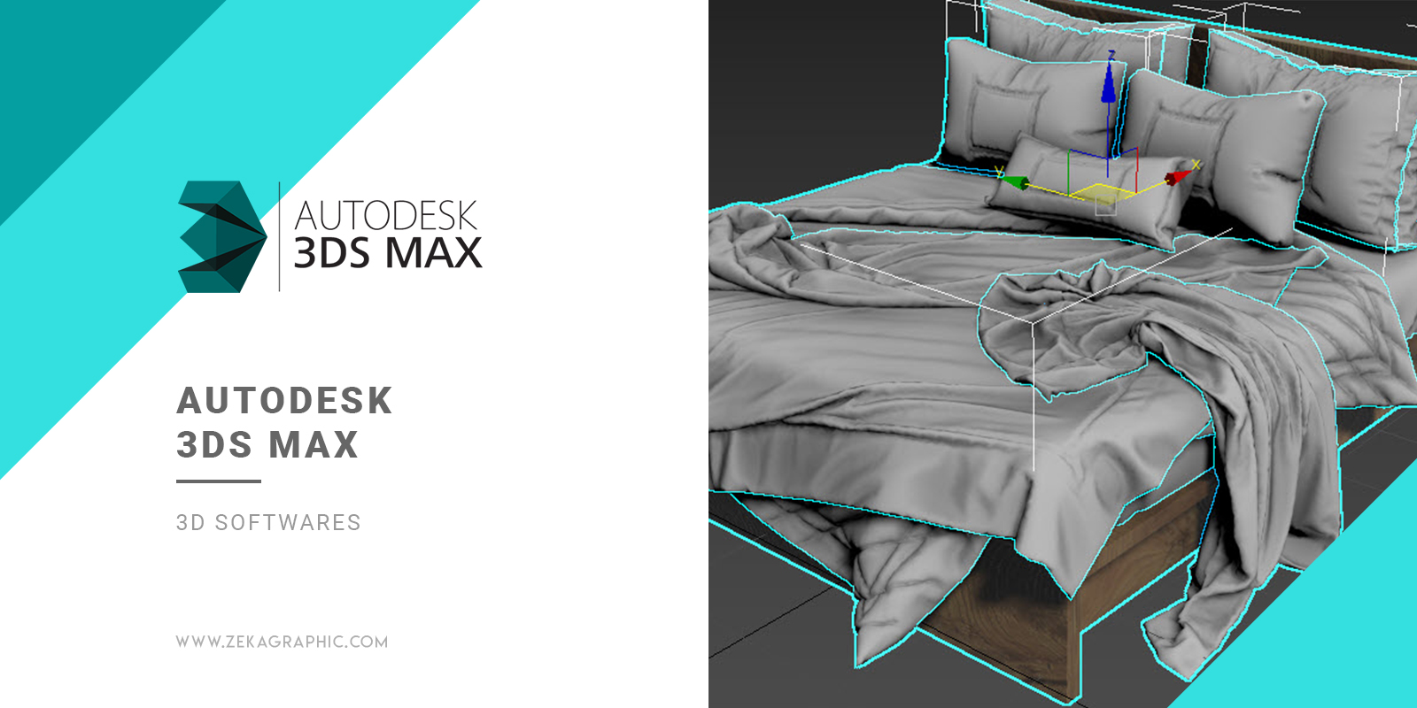Autodesk 3DS Max 3D Software for Graphic Design