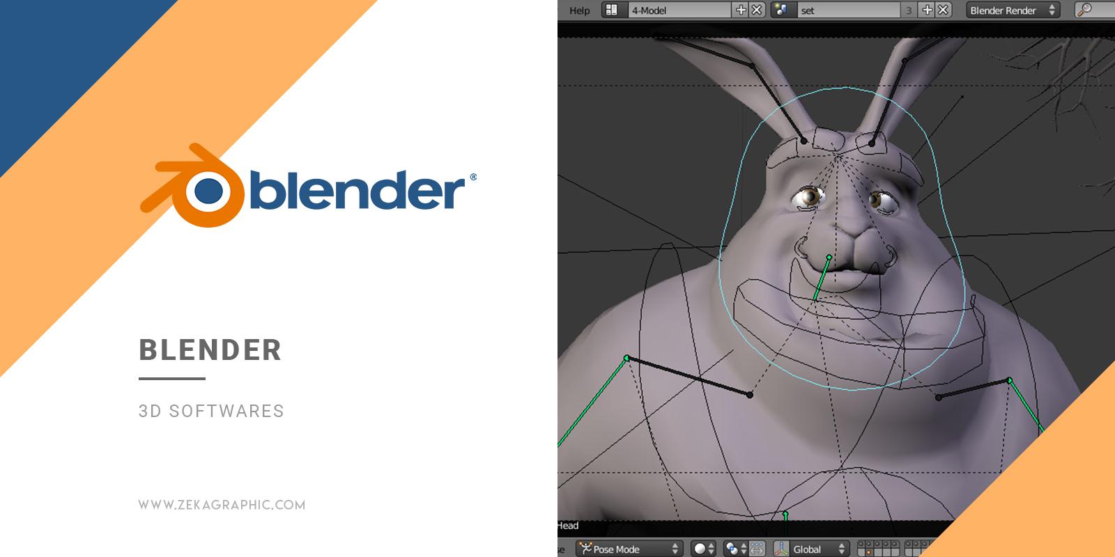 Blender 3D Software for Graphic Design