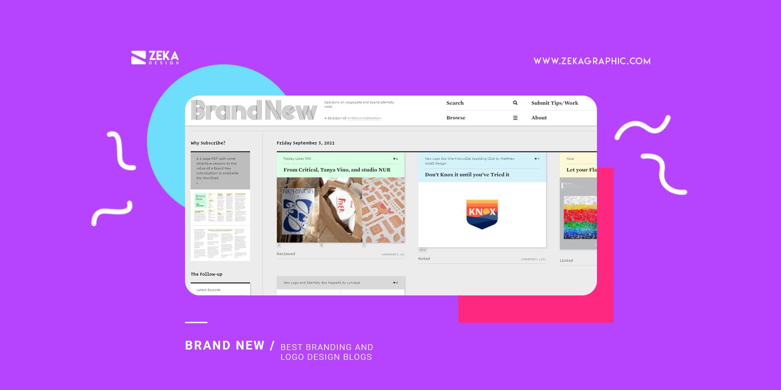 Brand New Best Branding and logo design blogs