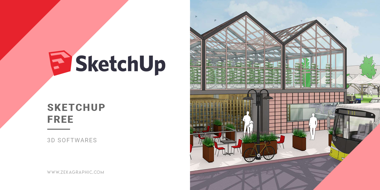 SketchUp Free 3D Software for Graphic Design