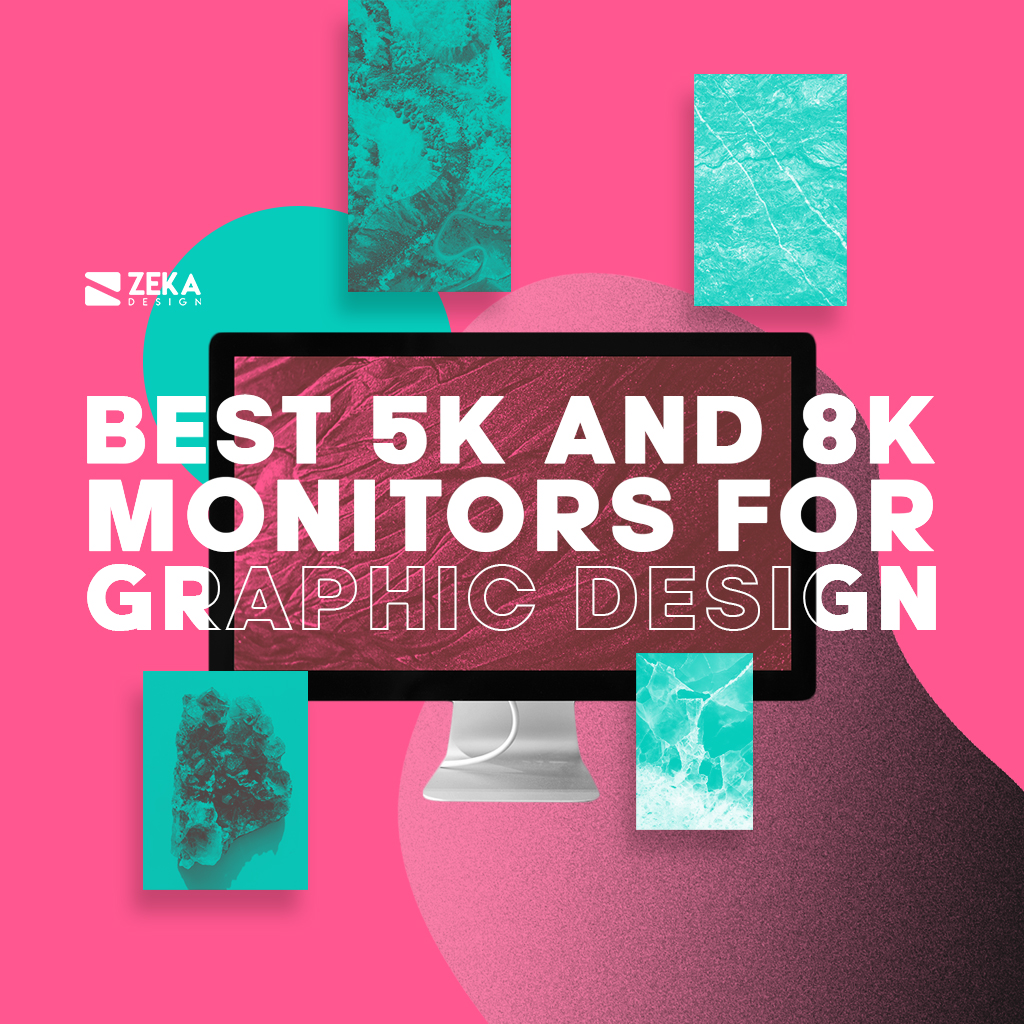 Top 10 5K Monitors for graphic designers and video editors