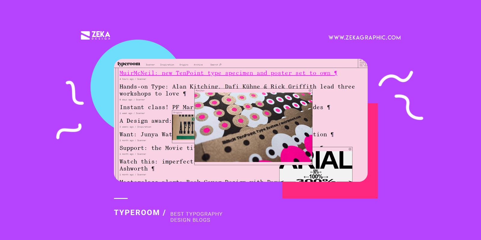 Typeoom Best Typography Design Blogs