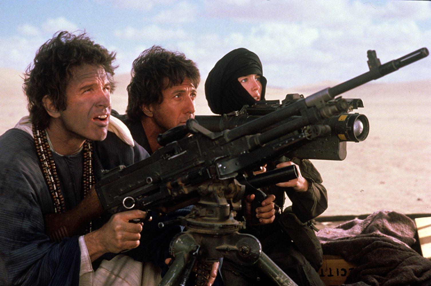 Warren Beatty, Dustin Hoffman, and Isabelle Adjani in ISHTAR (1987)