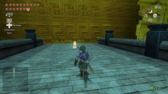 Twilight Princess Walkthrough     In Search of the Sky     Zelda Dungeon Walk up the steps and passed the door  Walk up to the golden wolf and  you ll be taken to a foggy area with the mighty warrior