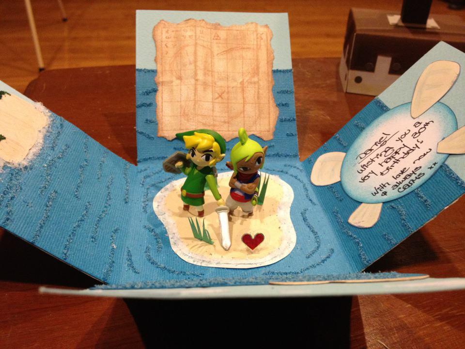 Incredible Zelda Themed Birthday Card Zelda Dungeon