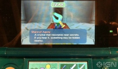 The Shard of Agony in Ocarina of Time 3D