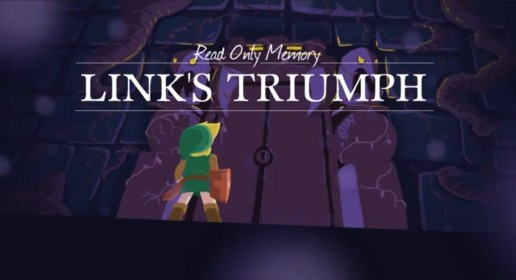 Read Only Memory - Link's Triumph Cartoon