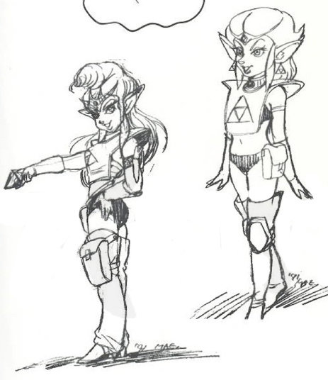 A Link to the Past Sci-Fi Zelda Concept