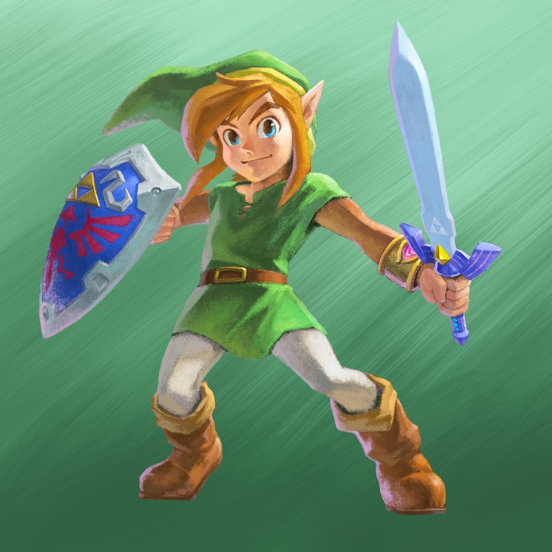 A Link Between Worlds Info Site Opened New Artwork