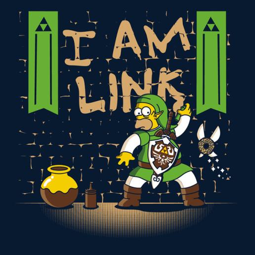 ShirtPunch - I am Link