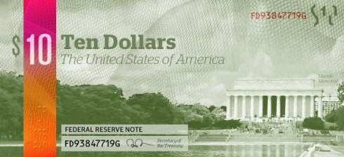 Excerpt from a money redesign by Michael Tyznik.