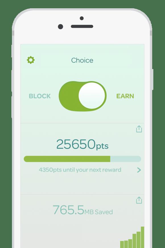 screenshot of Choice app from Been, Inc.