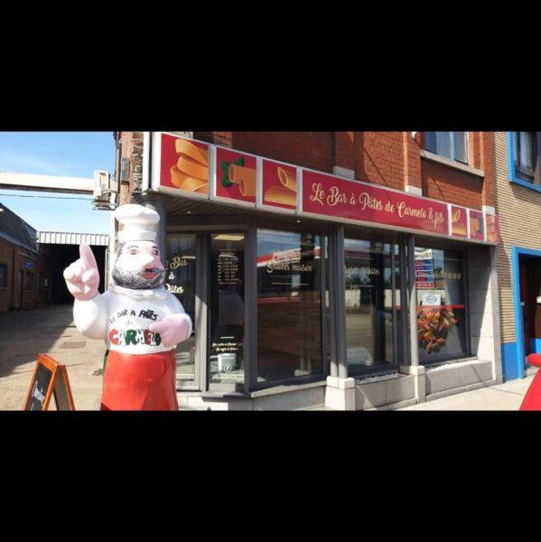 Bar à pâtes de Carmelo & Fils Herstal | Boris et Fany