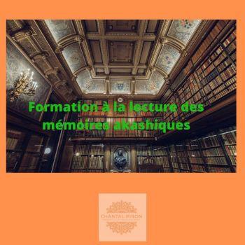 Formation de base à la lecture des mémoires akashiques