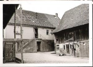 ferien bauernhof Zeltnerhof, historische Hofansicht