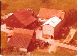deutschland ferien, Zeltnerhof, Luftbild Bauernhof