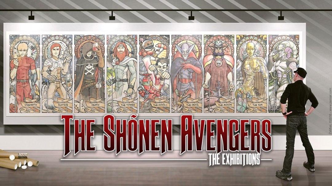 The Shõnen Avengers Exhibitions