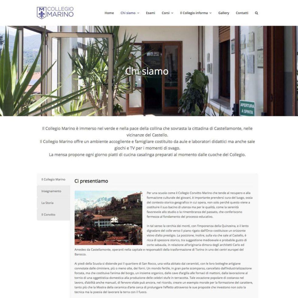 Collegio Marino Web-design-zen Studio Siti Web Torino