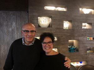 Marco Benvenuto e Monica Capurro