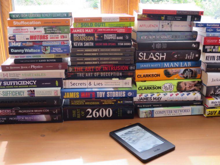 Ebook reader - digitise your book shelves