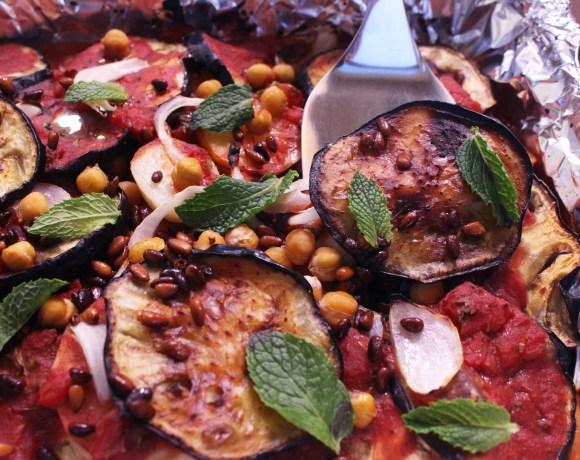 Syrian Moussaka with Eggplant and Potato (Vegan)