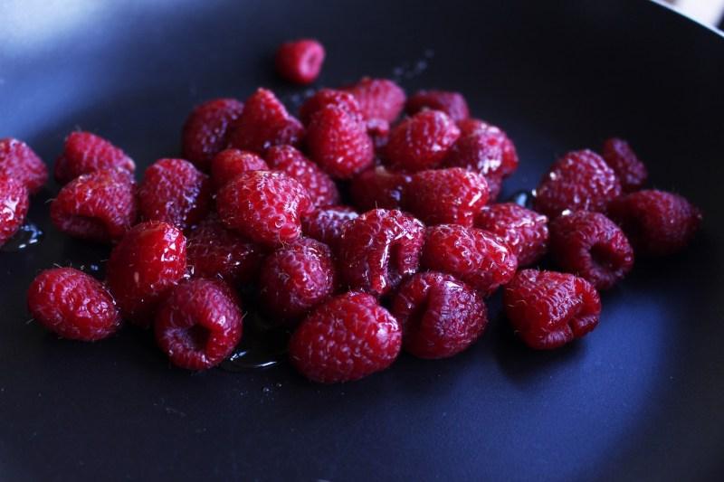 Always Crispy French Toast Raspberry Coconut Vegan
