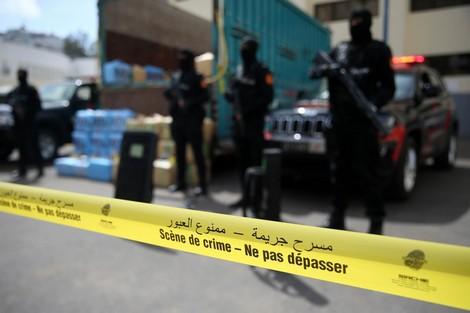 Casablanca : Saisie de 3,5 tonnes de chira et interpellation de deux individus